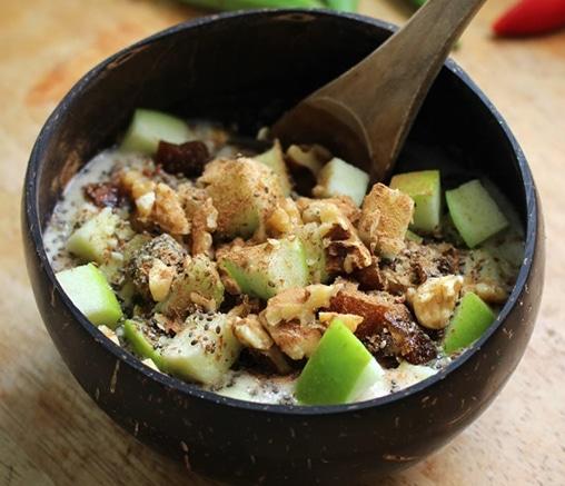 Хрупкава закуска със суперхрани