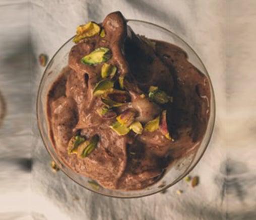 Шоколадов веган сладолед, от Лили Гелева