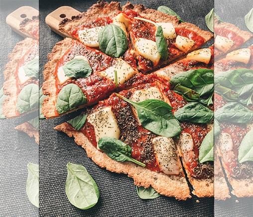 Безглутенова пица, от Лили Гелева
