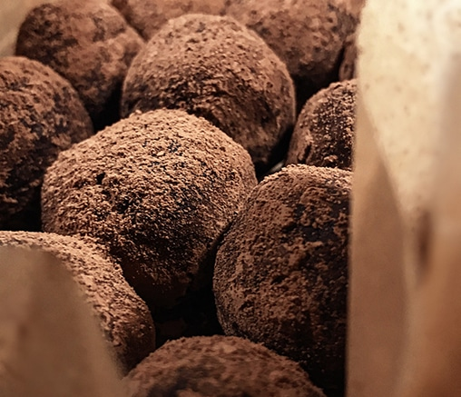 Шоколадови трюфели, от Лили Гелева